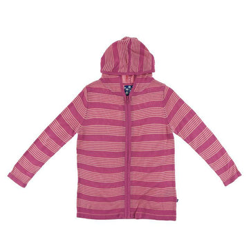 Knit Hoodie - Calypso Agriculture Stripe