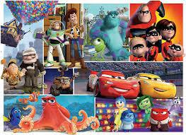 Floor Puzzle - Pixar Friends - 60pc