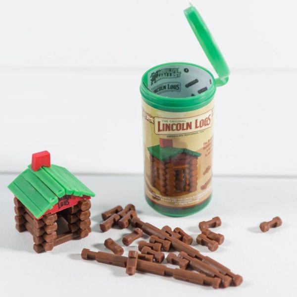 World's Smallest - Lincoln Logs