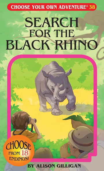Book - Choose Your Own Adventure: Search For The Black Rhino