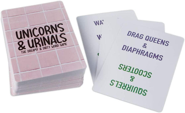 Game - Unicorns and Urinals (Adult Party Game)