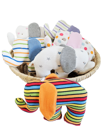 Baby Toys - Scrappy Elephants Assorted