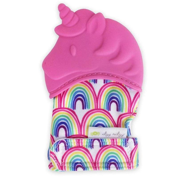 Teether - Silicone Mitt Unicorn