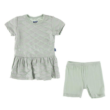 Playtime Outfit Set - Iridescent Mermaid Scales