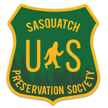 Sticker - Sasquatch Preservation