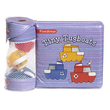 Books - Float Along Bath Book: Tiny Tugboats