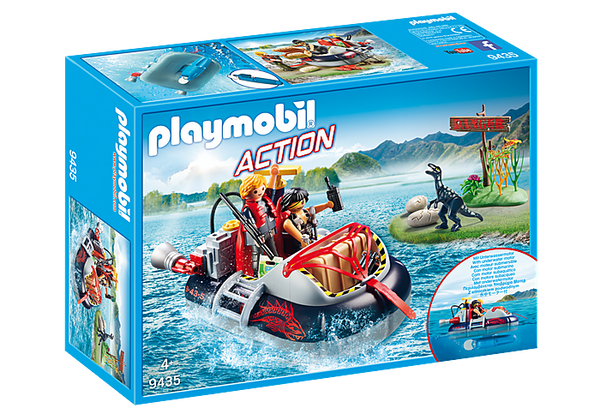 Playmobile - Dino Hovercraft with Underwater Water