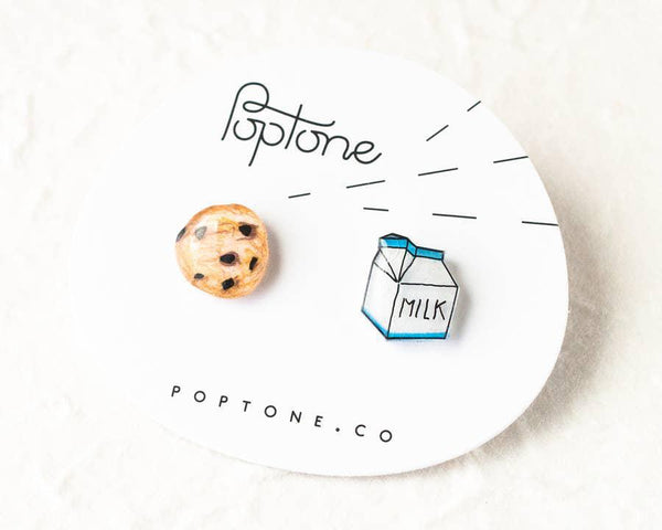 Jewelry - Milk + Cookie Stud Earrings