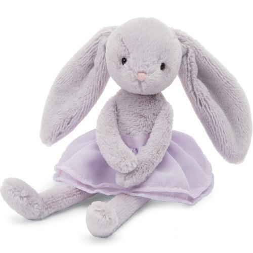 Stuffed Animal - Lilac Arabesque Bunny