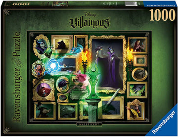 Puzzle - Disney's Villainous: Maleficent - 1000 Pieces