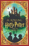 Book (Hard Cover) - Harry Potter And The Sorcerer's Stone Illustrated + Fold Out