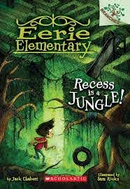 Book (Paperback) - Eerie Elementary #3 (Recess Is A Jungle