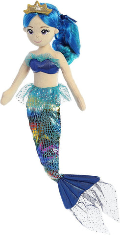 Mermaid Doll - Rainbow Indigo