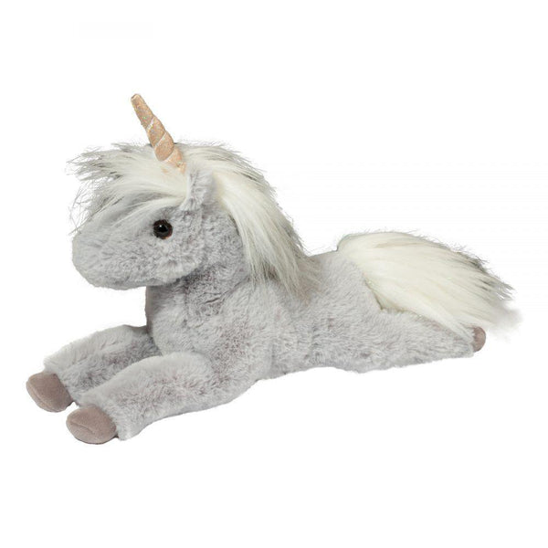 Stuffed Animal - Gray Unicorn