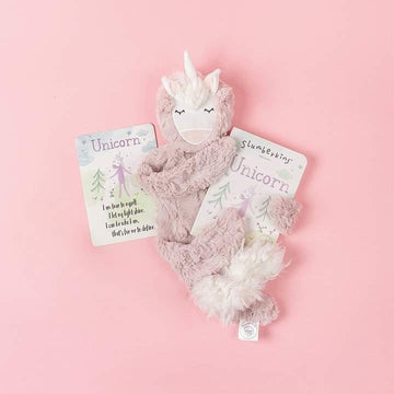Slumberkins - Unicorn Snuggler Set