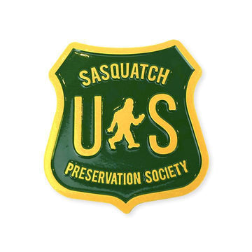Pin - Sasquatch Preservation