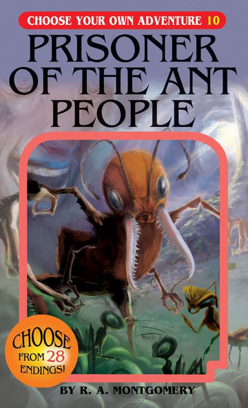 Book - Choose Your Own Adventure: Prisoner Of The Ant People