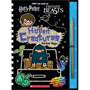 Books - Harry Potter/Fantastic Beasts: Hidden Creatures Scratch Magic!