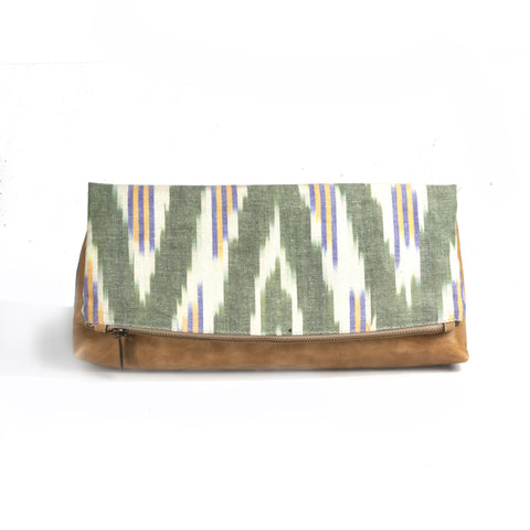 Ikat Clutch - Turklyn Pazaar - 1