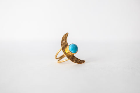 Half Moon Ring - Turklyn Pazaar - 1