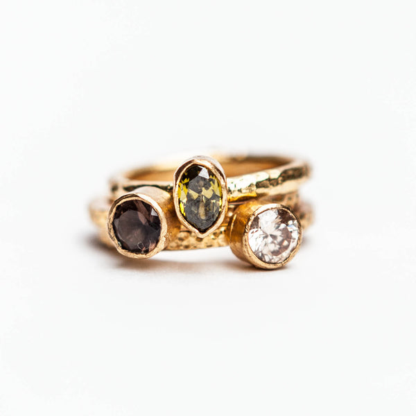 Apricot | Stackable Ring - Turklyn Pazaar - 3