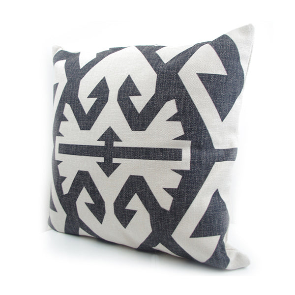 Geometric Kilim Turkish Pillow