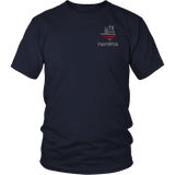 Texas Firefighter Thin Red Line Shirt - Thin Line Style