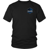 Star of Life EMS Thin White Line Shirt - Thin Line Style