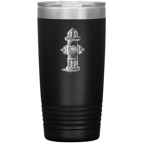 Hydrant Firefighter Tumbler