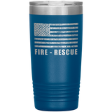 Fire Rescue Firefighter Tumbler