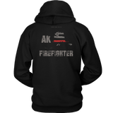 Alaska Firefighter Thin Red Line Hoodie - Thin Line Style
