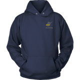 West Virginia Dispatcher Thin Gold Line Hoodie - Thin Line Style