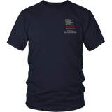 Georgia Firefighter Thin Red Line Shirt - Thin Line Style