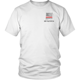 New Mexico Firefighter Thin Red Line Shirt - Thin Line Style