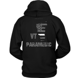Vermont Paramedic Thin White Line Hoodie - Thin Line Style