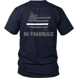 Oregon Paramedic Thin White Line Shirt - Thin Line Style