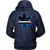 Star of Life EMS Thin White Line Hoodie - Thin Line Style