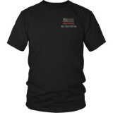 North Dakota Firefighter Thin Red Line Shirt - Thin Line Style