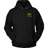 Oregon Dispatcher Thin Gold Line Hoodie - Thin Line Style