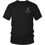 Vermont Dispatcher Thin Gold Line Shirt - Thin Line Style