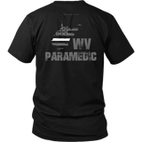 West Virginia Paramedic Thin White Line Shirt - Thin Line Style