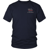 Iowa Firefighter Thin Red Line Shirt - Thin Line Style