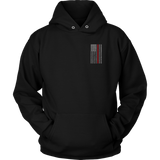 Firefighter Thin Red Line USA Flag Hoodie - Thin Line Style