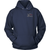Maryland Firefighter Thin Red Line Hoodie - Thin Line Style