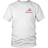 Virginia Firefighter Thin Red Line Shirt - Thin Line Style