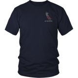 California Firefighter Thin Red Line Shirt - Thin Line Style