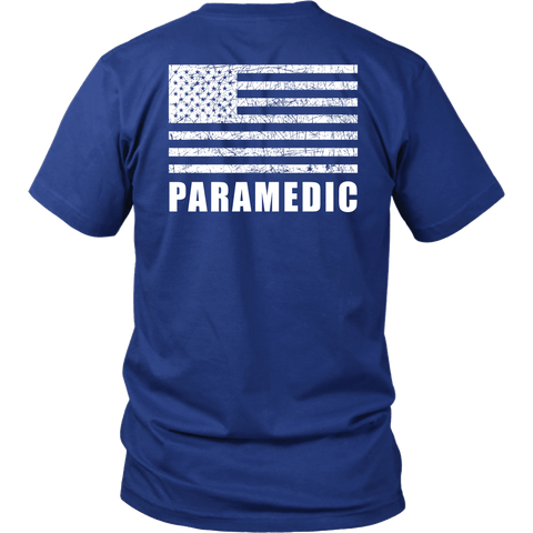 Paramedic Duty Shirt - Thin Line Style