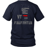 Vermont Firefighter Thin Red Line Shirt - Thin Line Style