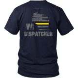 Wisconsin Dispatcher Thin Gold Line Shirt - Thin Line Style