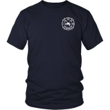 Fire Rescue Battalion Chief Duty Shirt - Thin Line Style